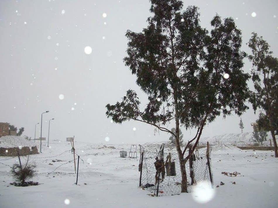 Egypt snow