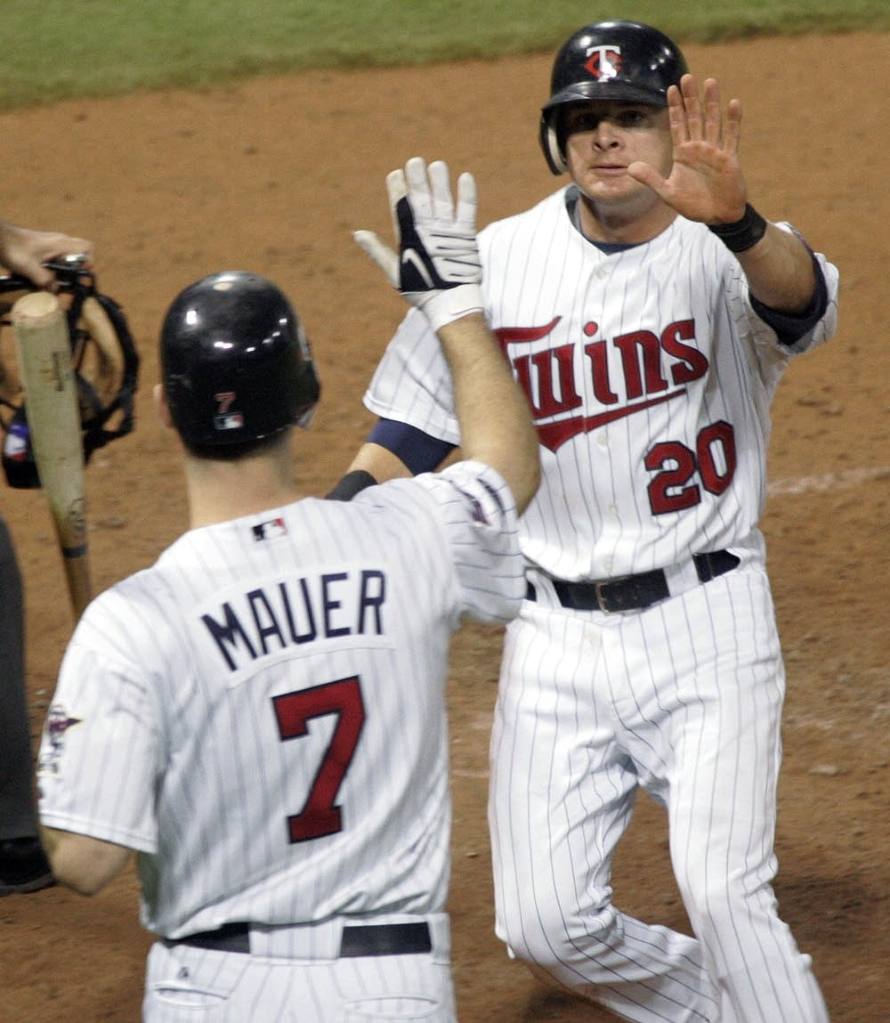 Matt Tolbert, Joe Mauer