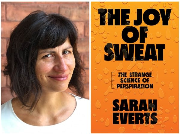 The Joy of Sweat cover and author photo