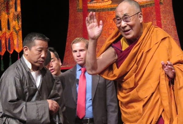 Dalai Lama brings message of peace to Minneapolis | MPR News