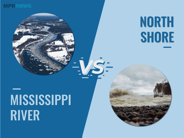 The Mississippi River vs. The North Shore