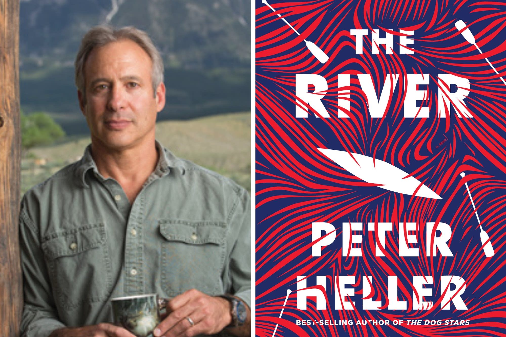 Peter Heller talks about his latest novel, 'The River.'