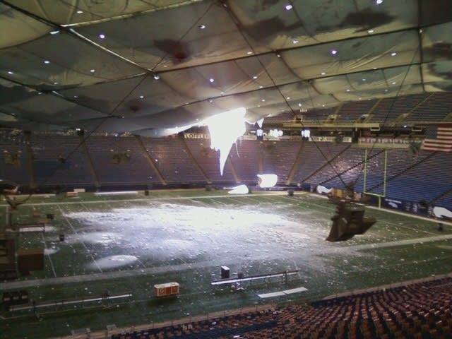 Collapsed Metrodome