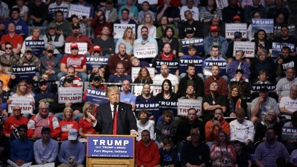 Then-candidate Trump criticized U.S. China relations in Fort Wayne, Ind.