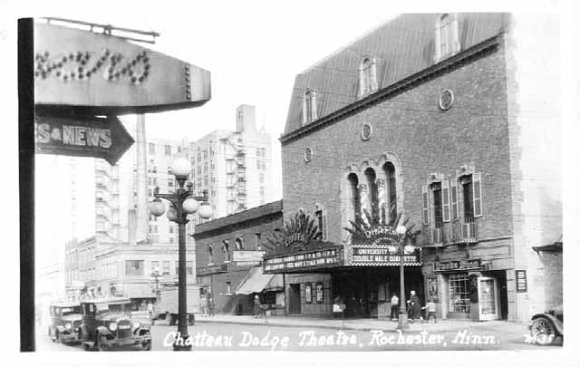 The Chateau Theatre in Rochester, Minn., in its early days.