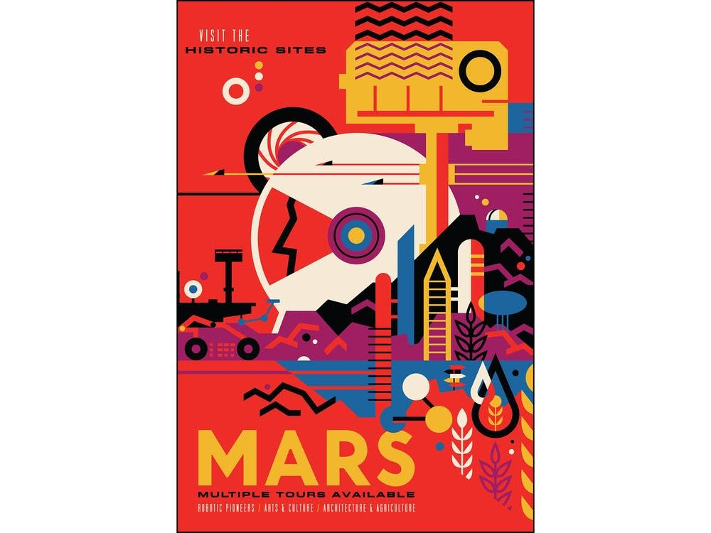 Mars: Visit the historic sites