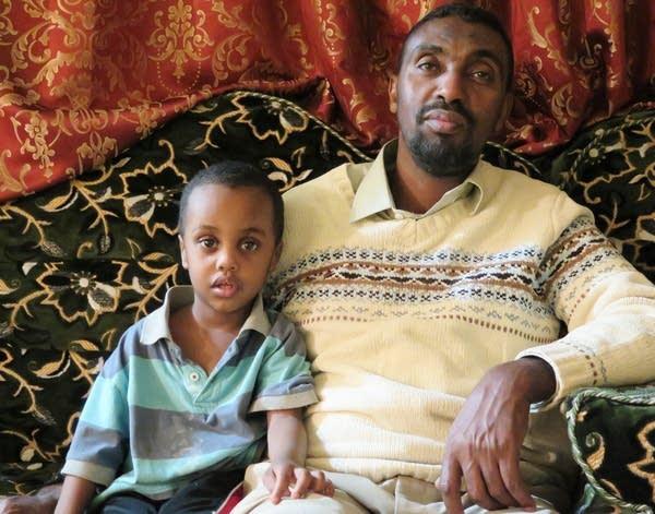 Adam Aded and his son Abdullahi Abdulkadir