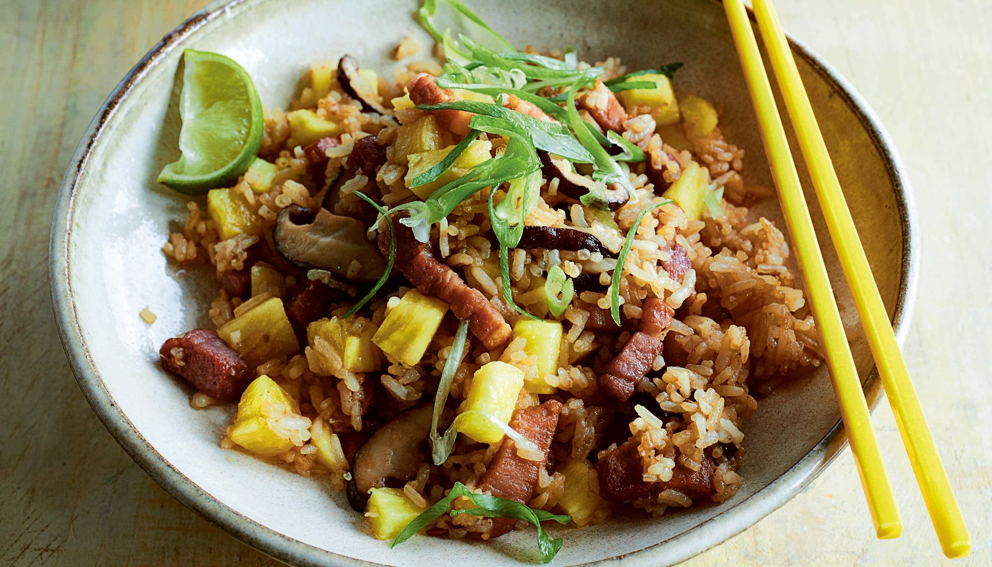Black Pepper Bacon Pineapple Fried Rice The Splendid Table