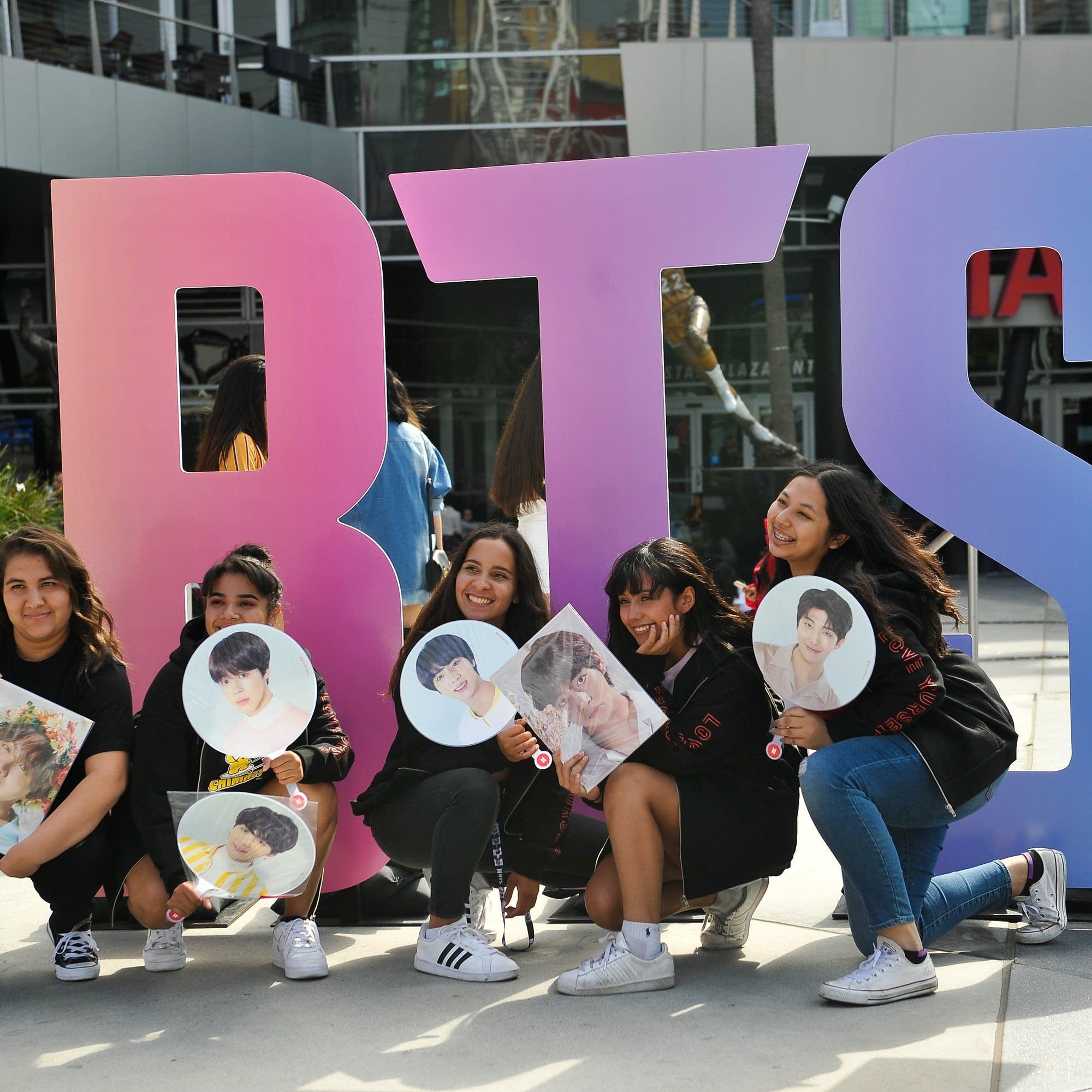 BTS music pop fans