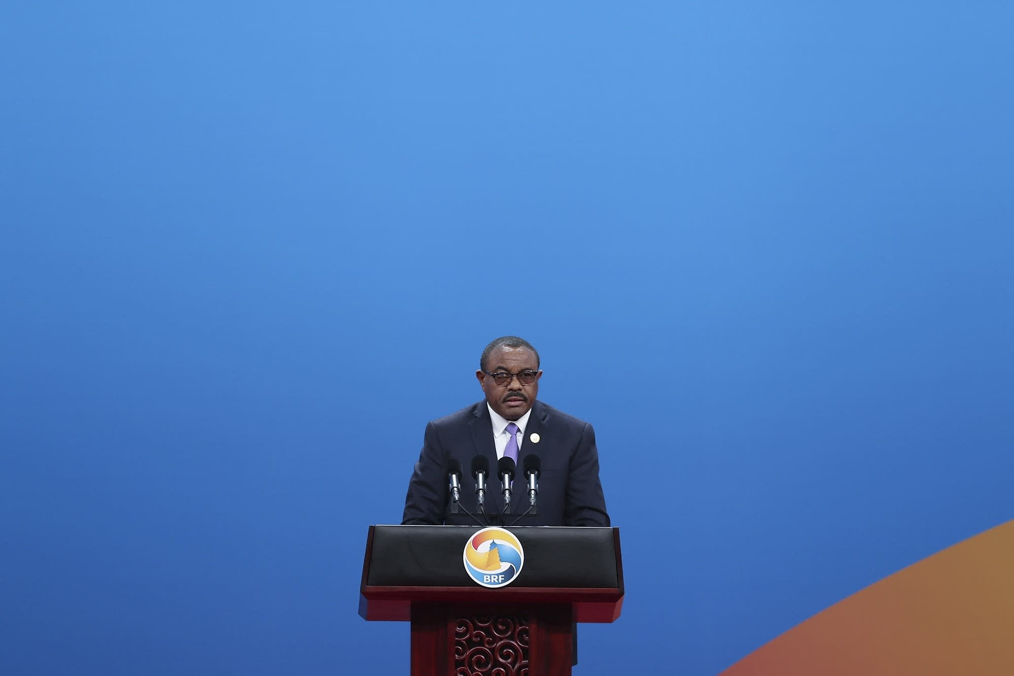 Ethiopian Prime Minister Hailemariam Desalegn.