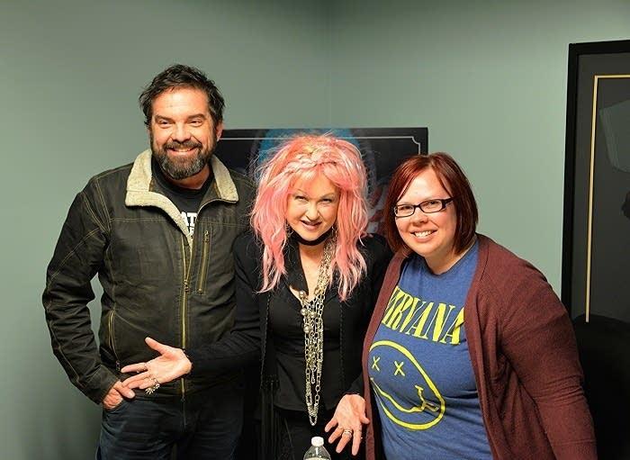 Cyndi with Oake & Riley