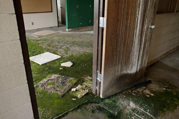 Sandstone School water damage