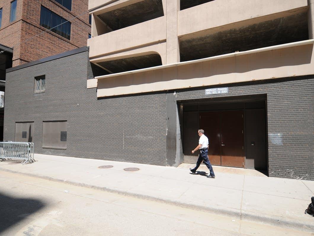 Former site of Jay's Longhorn Bar in Minneapolis.