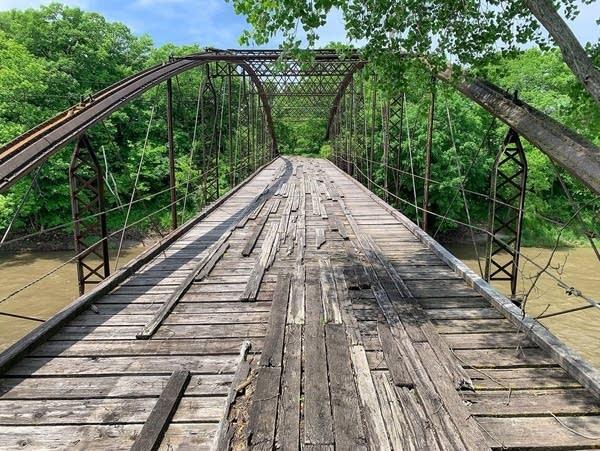 The Kern Bridge - seen here in June 2019