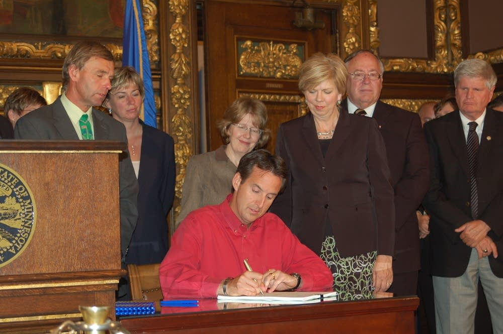 Signs special session bill
