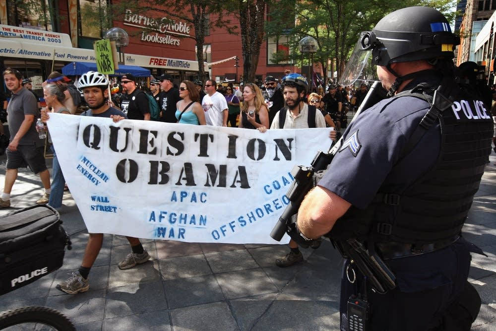 Activists question Obama