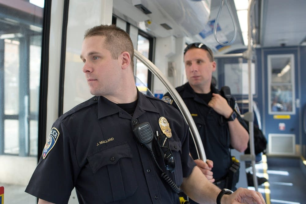 Metro Transit Cop Numbers Jump As Rail Bus Lines Expand