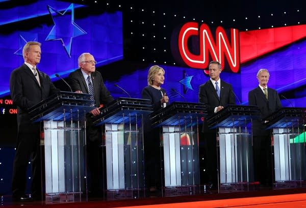 Candidates participated in presidential debate.