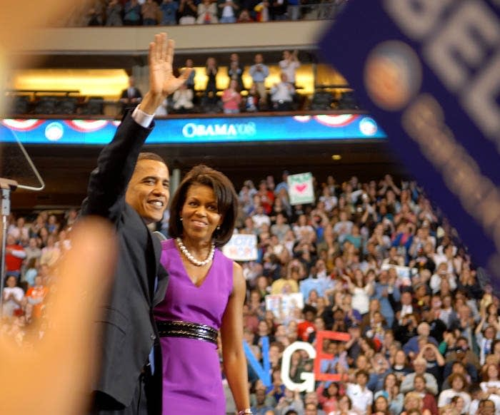 Barack and Michellle Obama