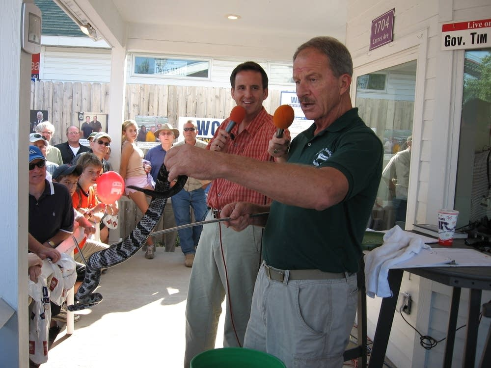 Gov. Pawlenty at the State Fair