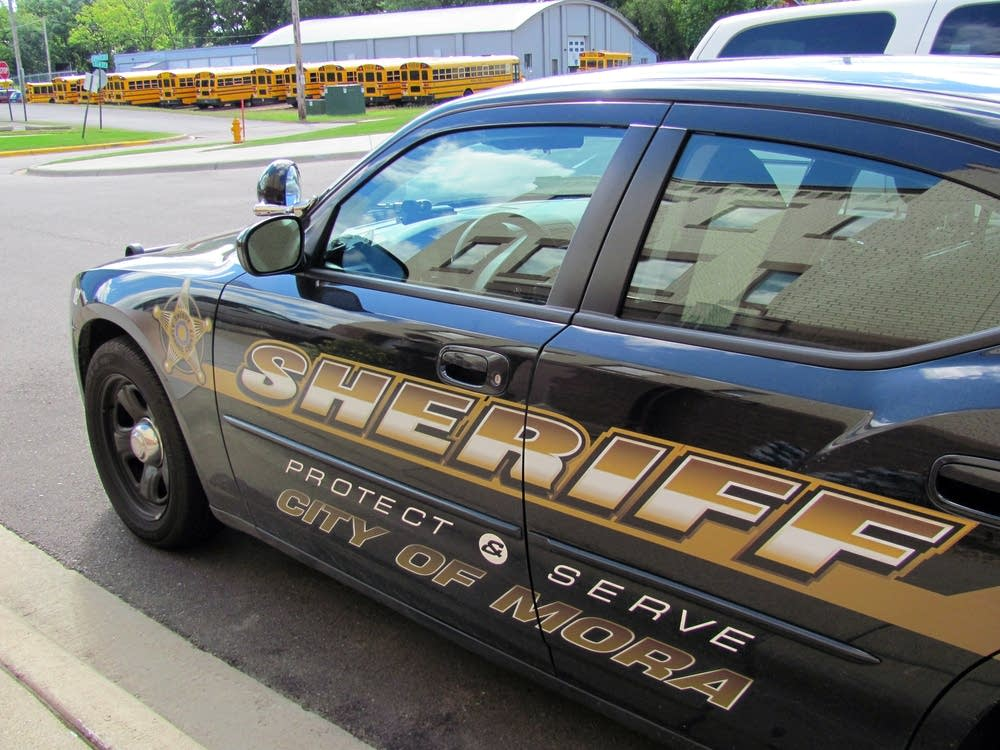 Kanabec Sheriff's Mora squad cars