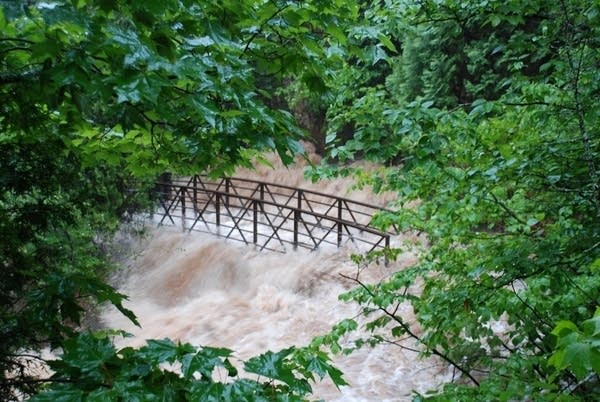 Congdon Park footbridge