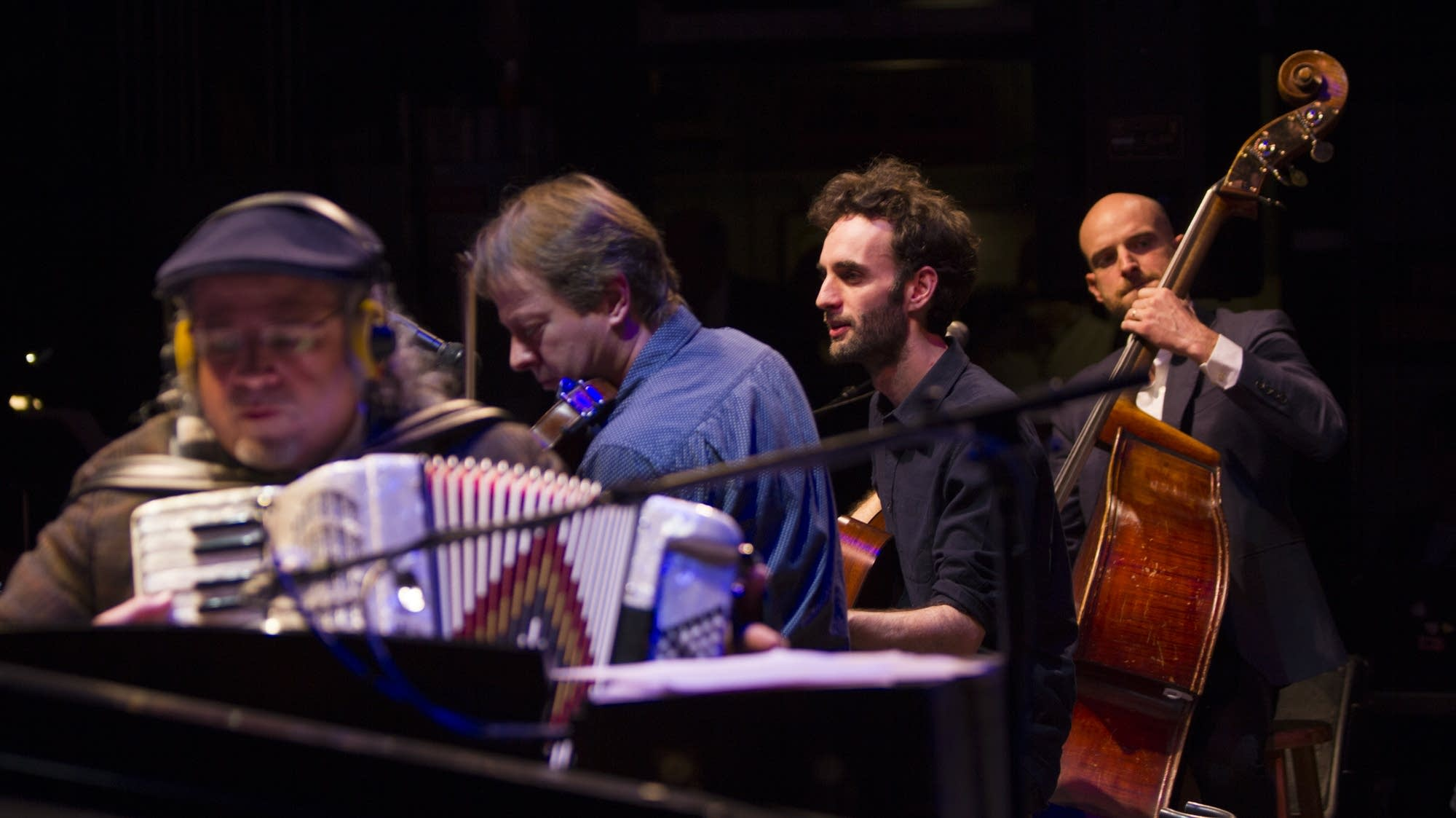 Rich Dworsky, Stuart Duncan, Julian Lage, and Alan Hampton
