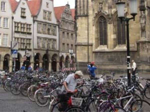 Bikes in Munster, Germany