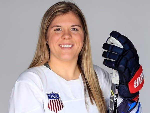 Hannah Brandt, Team USA women's hockey