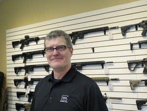 Arnzen Arms gun store owner Dan Arnzen