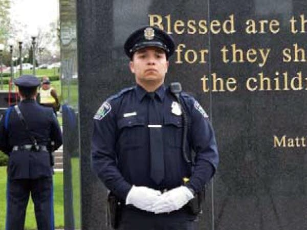 Officer Jeronimo Yanez at Law Enforcement Memorial