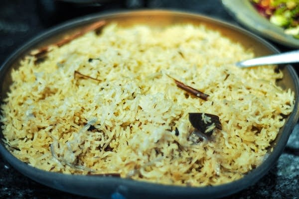 Sweet-scented Pilaf