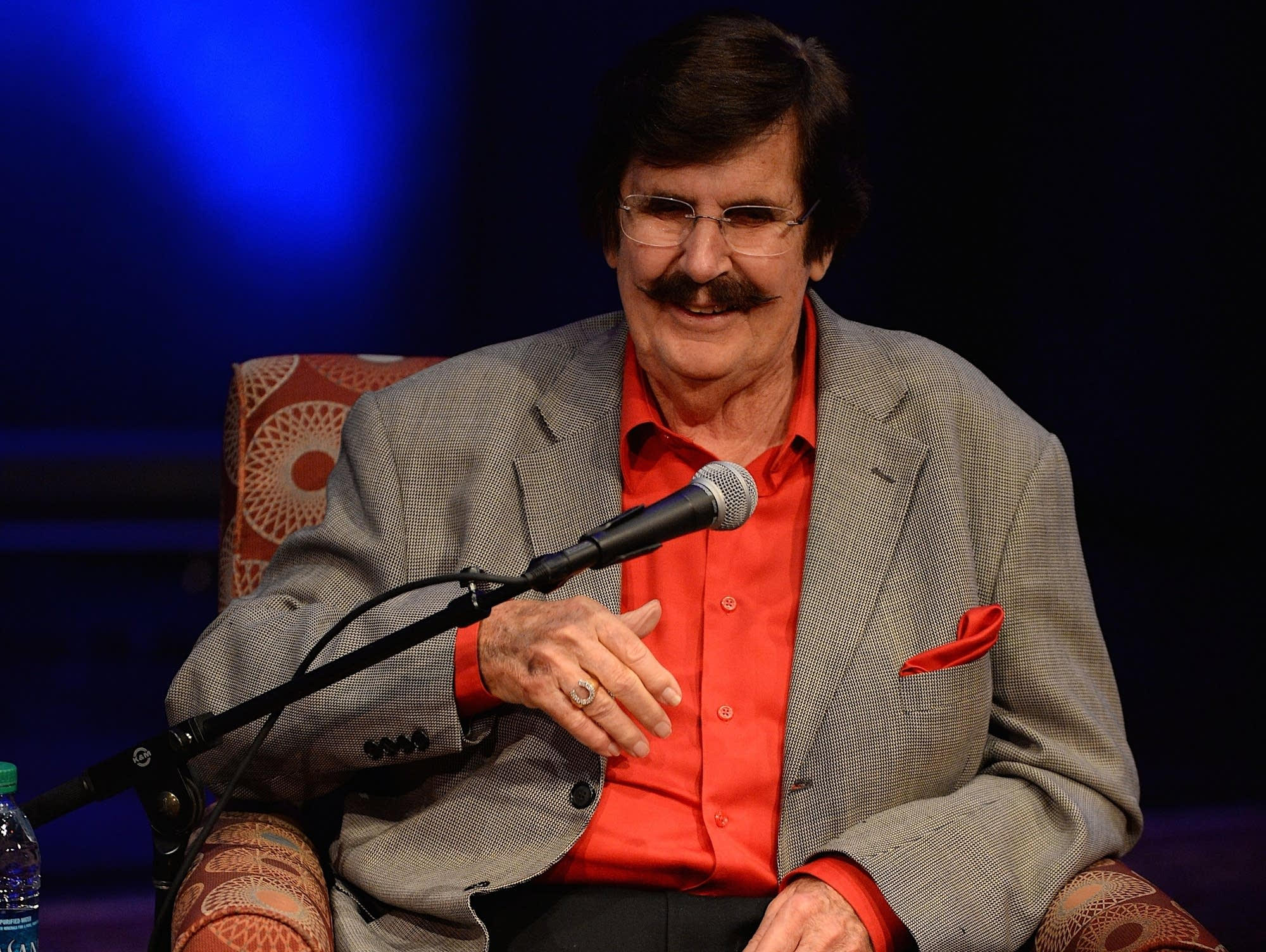 Rick Hall speaks at the Country Music Hall of Fame and Museum in 2015.