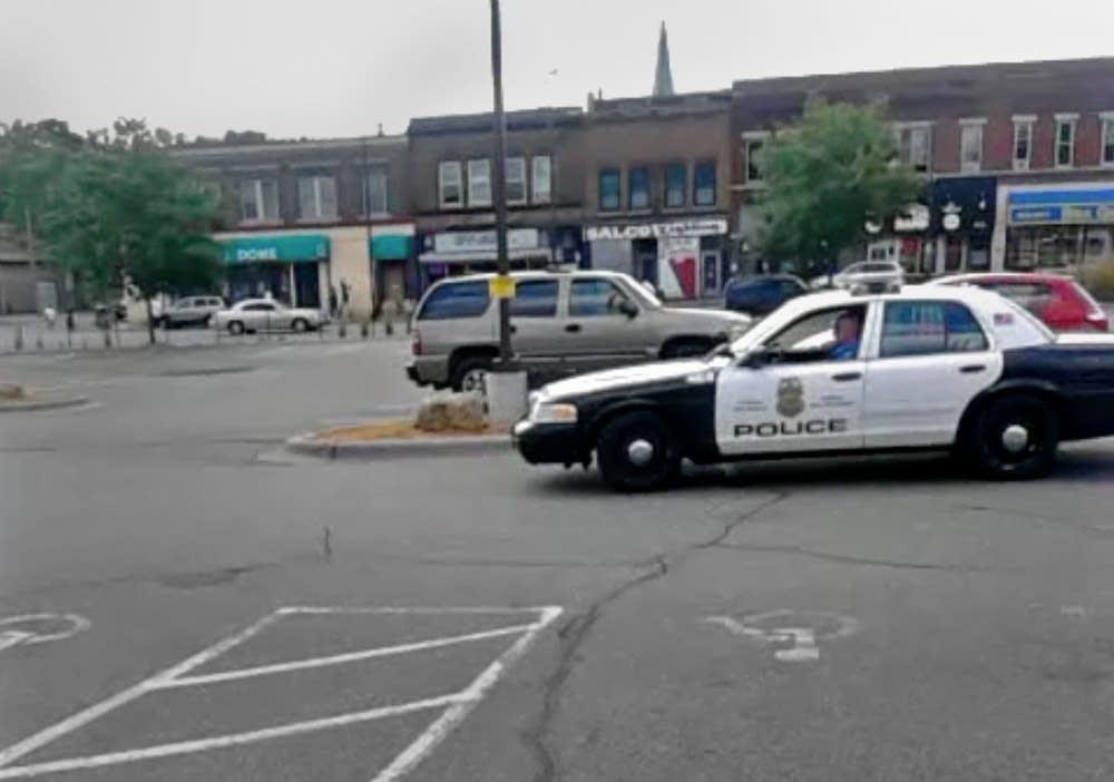 Officer Michael Killebrew in north Minneapolis