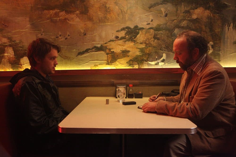 Chase Williamson and Paul Giamatti