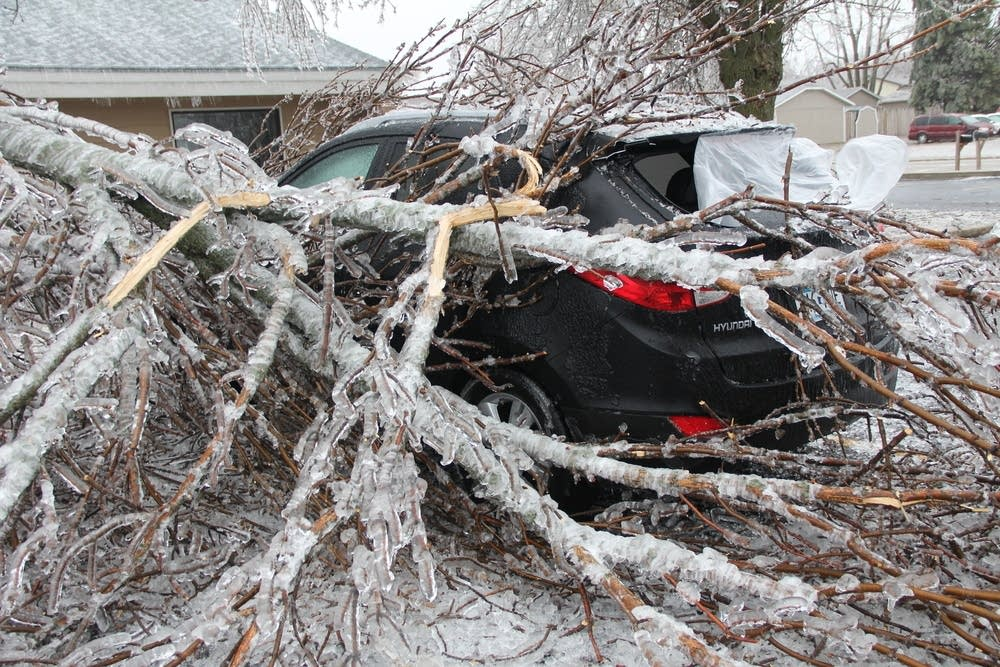 Worthington ice storm