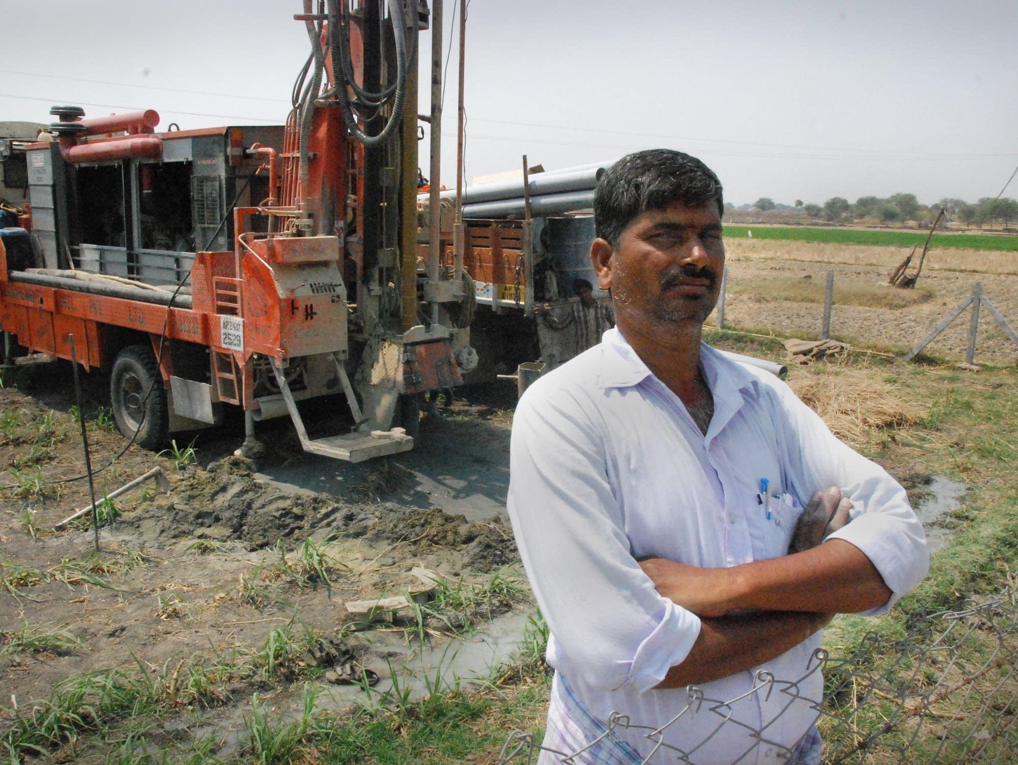Farmer Chirangi Malla Reddy