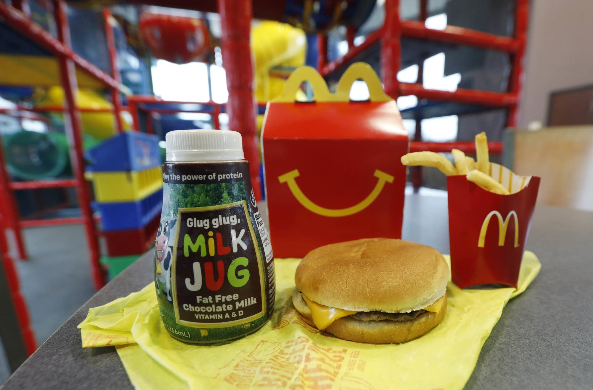 A McDonald's Happy Meal.