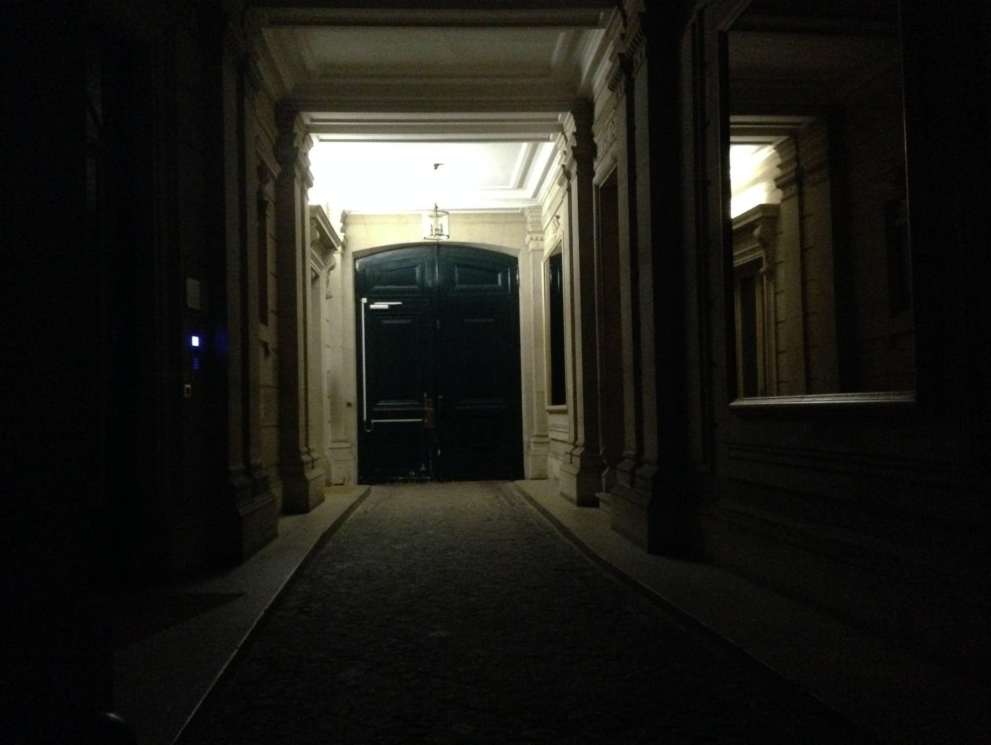 Paris apartment door