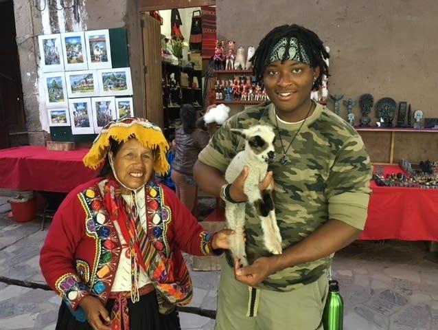 Savion Gales in Peru