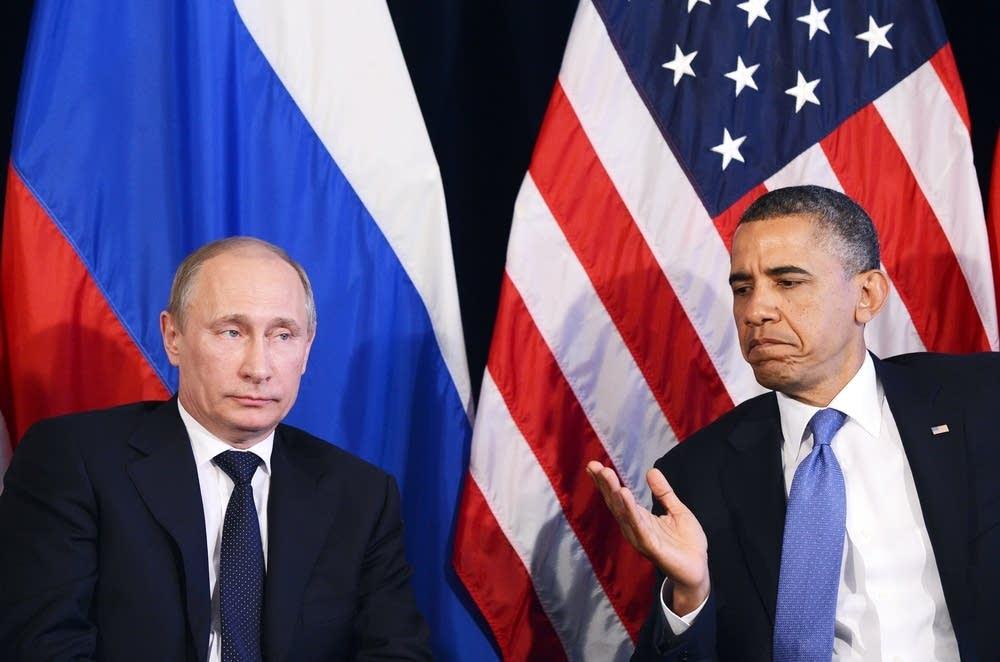 Barack Obama, Vladimir Putin