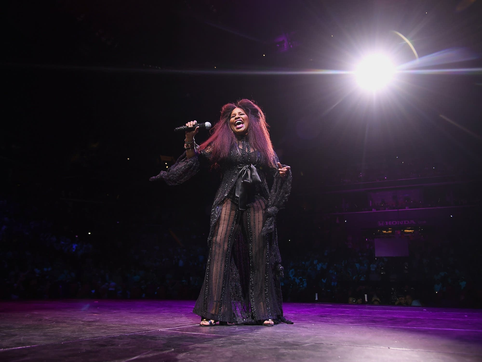 Chaka Khan performs at the WorldPride NYC 2019 Opening Ceremony