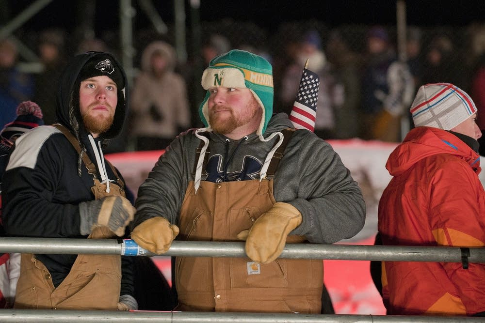 Red Bull Crashed Ice spectators