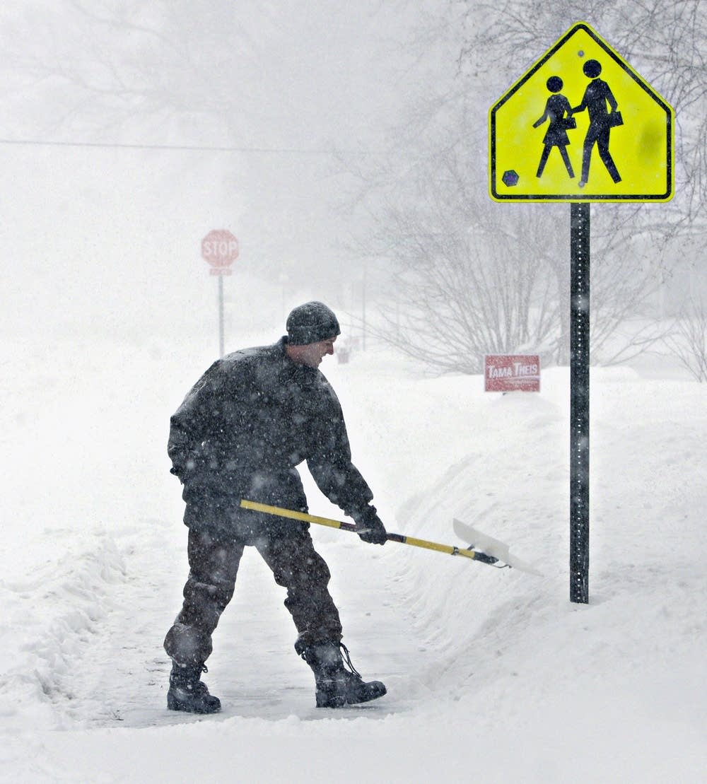 St. Cloud shoveling