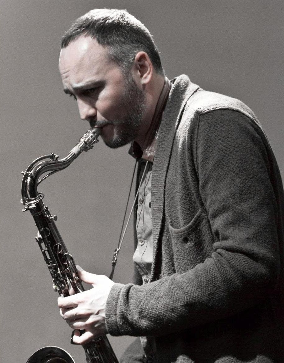 Jazz saxophonist Brandon Wozniak