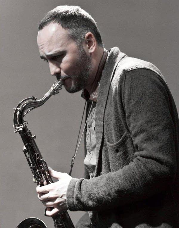 Jazz saxophonist Brandon Wozniak