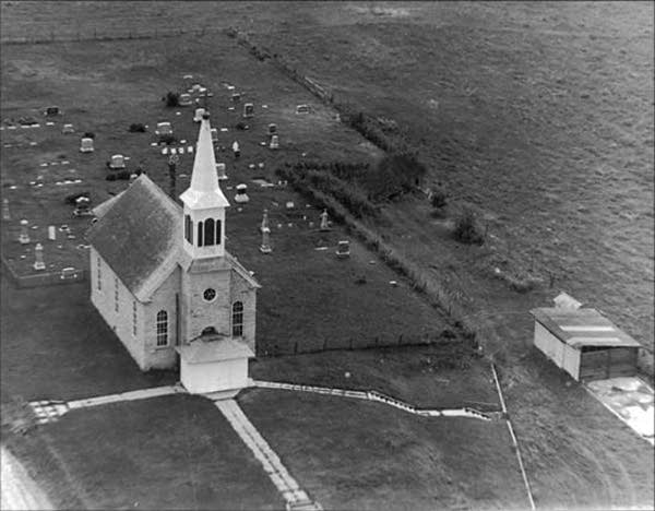 Aerial photo from 1941