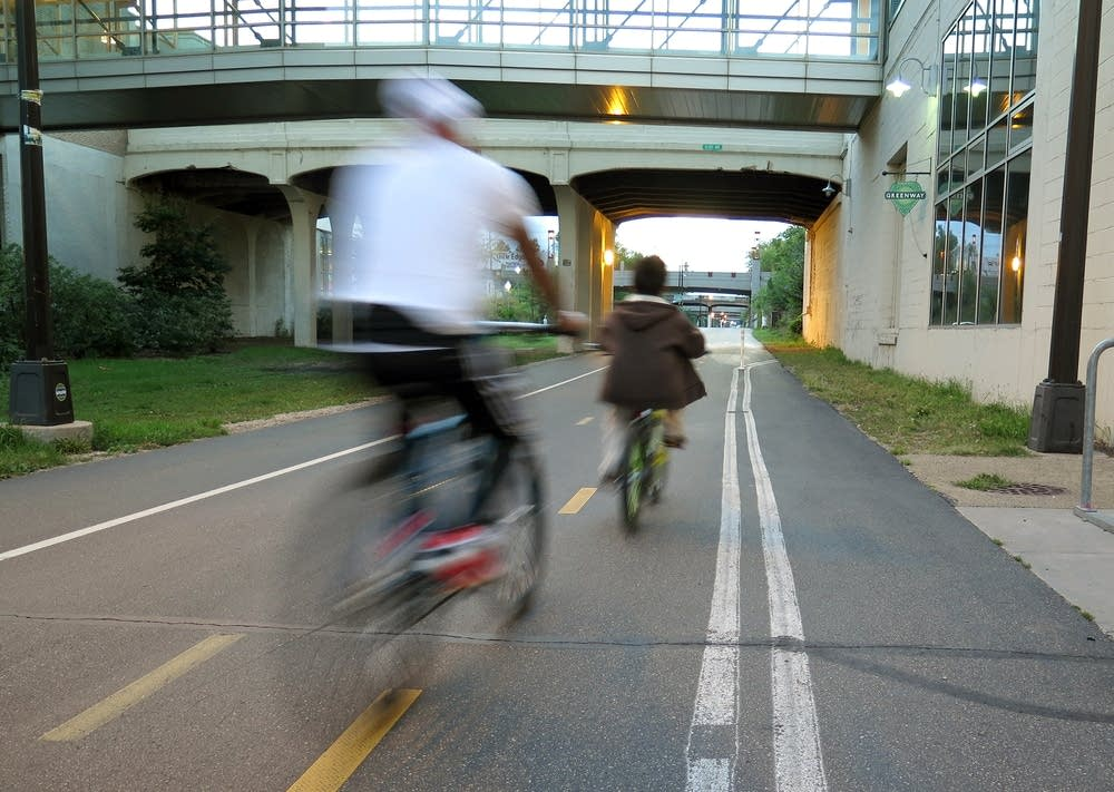 The Greenway stretches 5.5 miles through Mpls.
