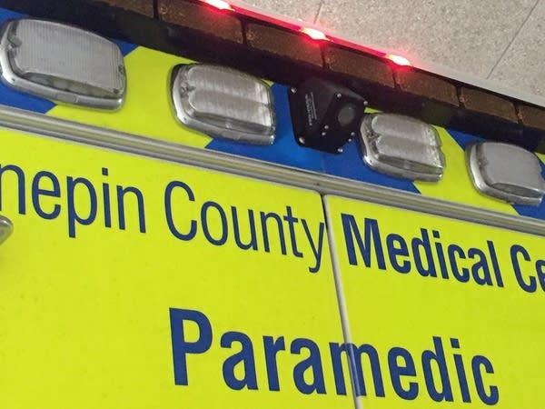 Camera on a paramedic rig