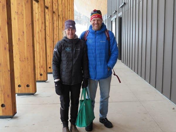 Winona residents Kelly and Brad Skillicorn